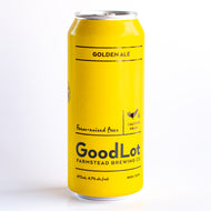 Goodlot Golden Ale (HST exc. Deposit inc.)