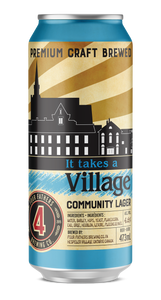 It Takes A Village Lager (Deposit inc. HST exc.)