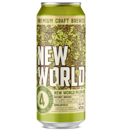 New World Pilsner (Deposit inc. HST exc)