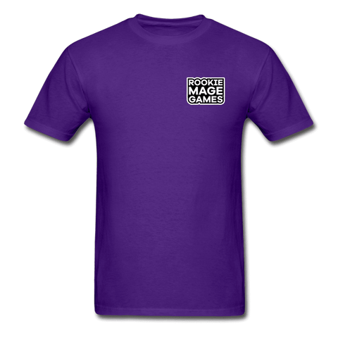 Rookie Mage Games Ultra Cotton Adult T-Shirt - purple