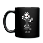 I Will F**king Stab You! Mug - black