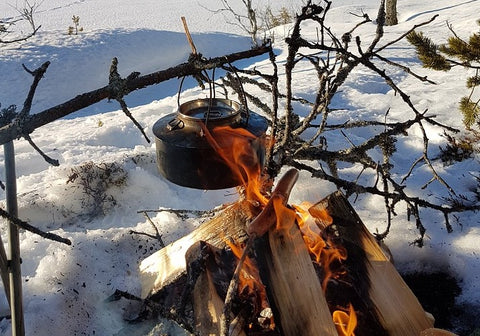 winter time cooking cold weather survival