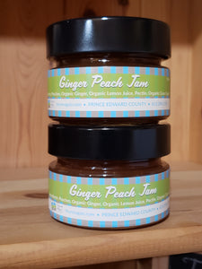 Ginger Peach Jam - 106 ml