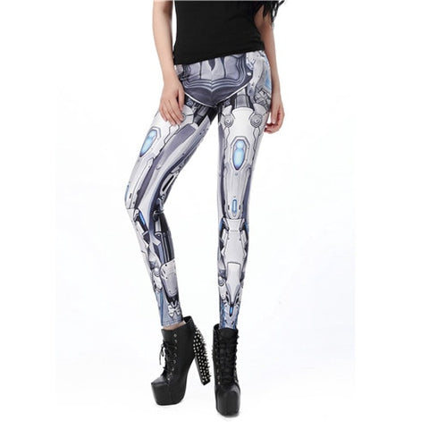 Fashion Design Steampunk Leggings