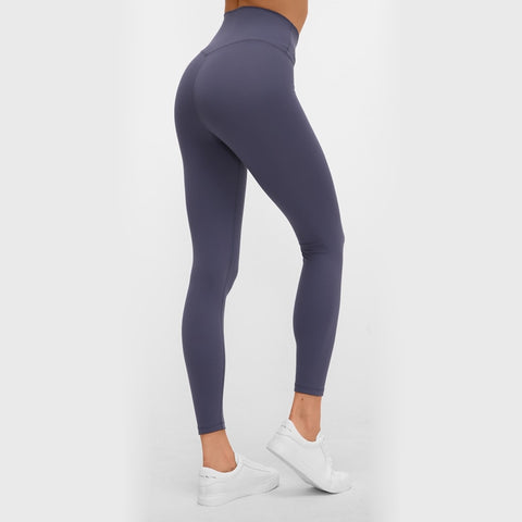 Casual Plain Workout Leggings