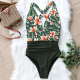 Plus Size One Piece Swimsuit