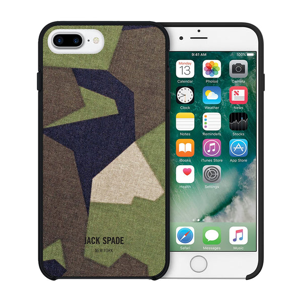 Jack Spade iPhone 7 Plus Printed Camo Case - M90 Camo Green