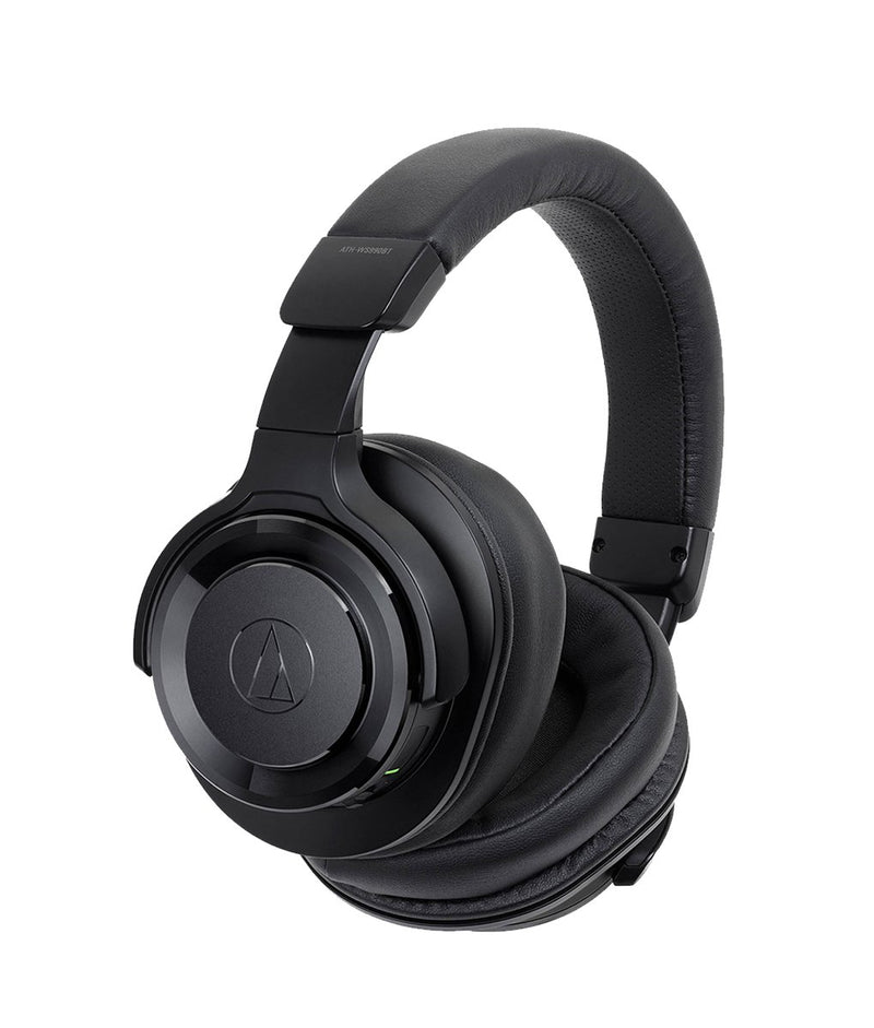 Audio Technica WS990 Solid Bass® Over-Ear Headphones Black