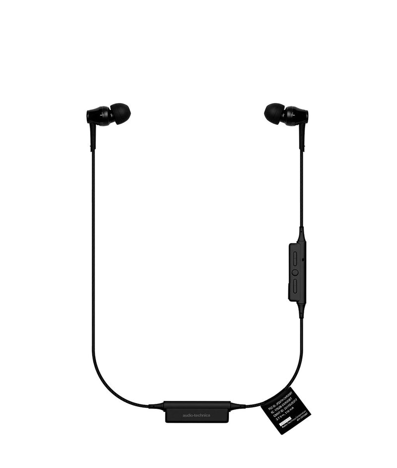 Audio Technica CKR35BT Wireless In-Ear Headphones Black