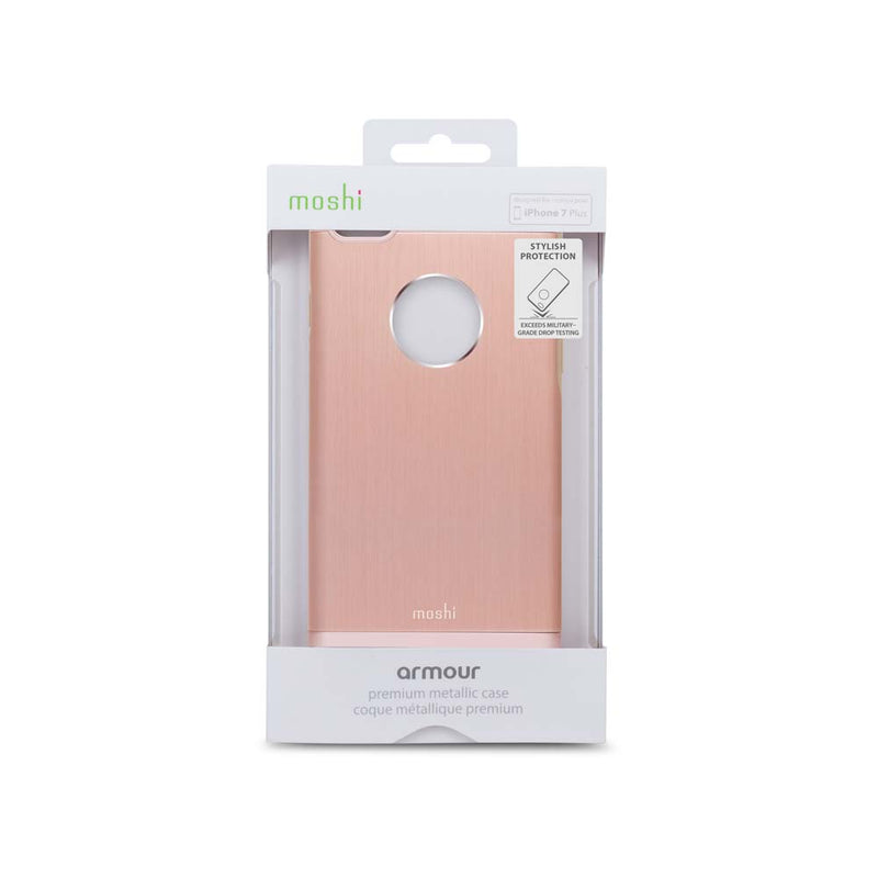 Moshi 7 Plus iGlaze Armour - Golden Rose