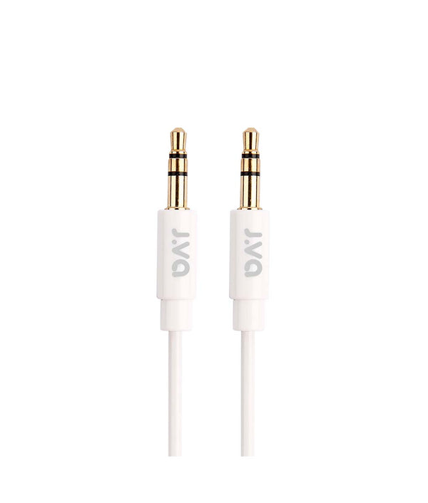 J.VA Tech 3.5mm AUX Cable 1m - White
