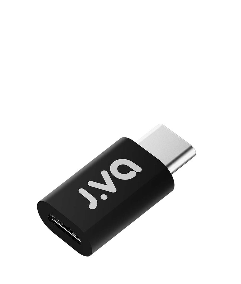 J.VA Tech Micro USB to Type_C Adapter _ Black