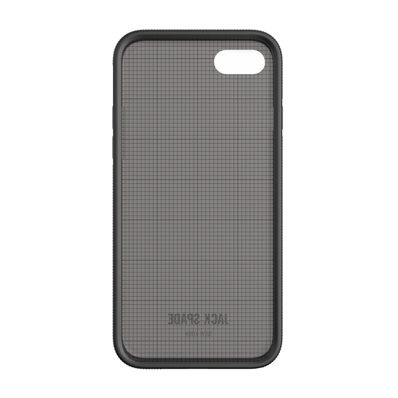 Jack Spade iPhone 7 Clear Case - Graph Check/Smoke