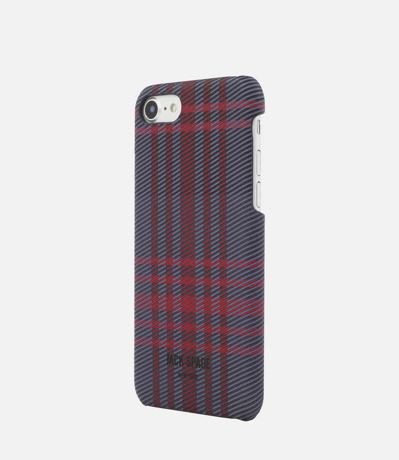 Jack Spade iPhone 7 Snap Case - Holiday Plaid