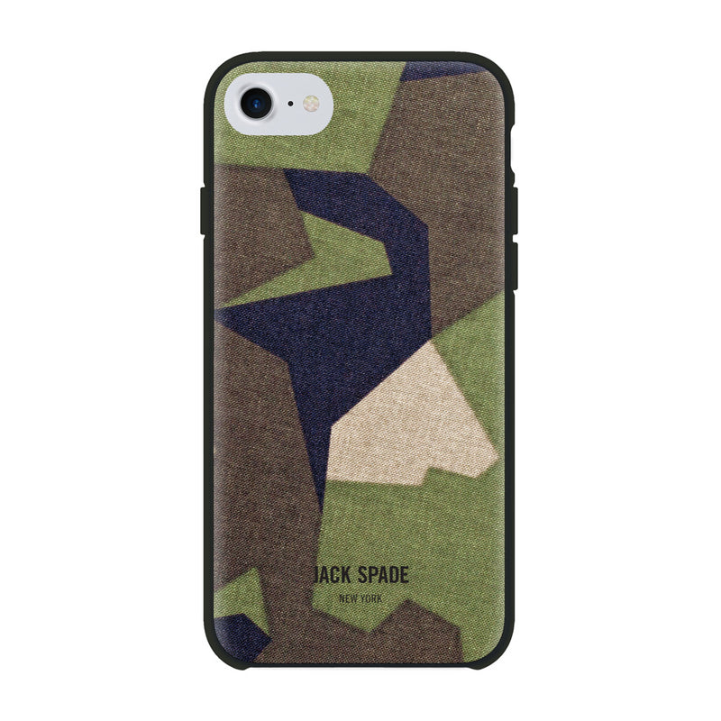 Jack Spade iPhone 7 Printed Camo Case - M90 Camo Green