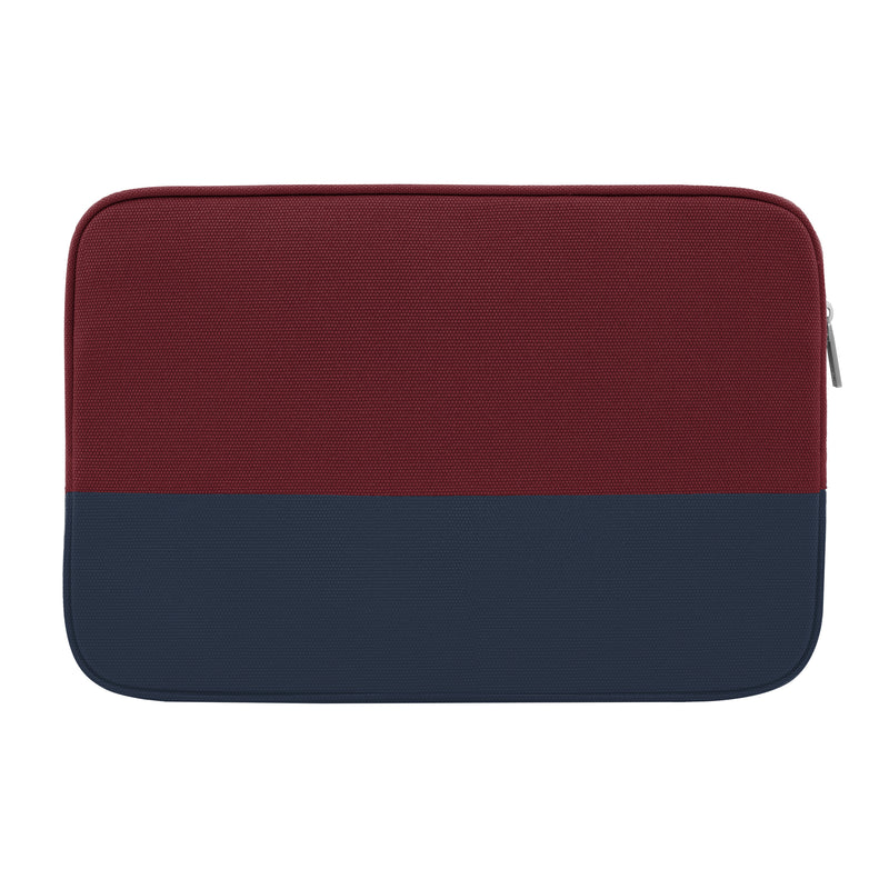 "Jack Spade Dipped Canvas Sleeve for 13"" Laptops - Burgundy Canvas/Navy"