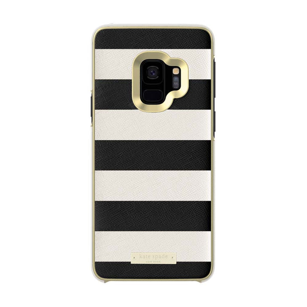Kate Spade New York Samsung Galaxy S9 - Saffiano Black & White