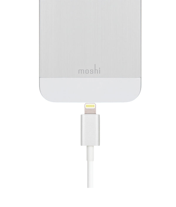Moshi USB Cable With Lightning Connector - White