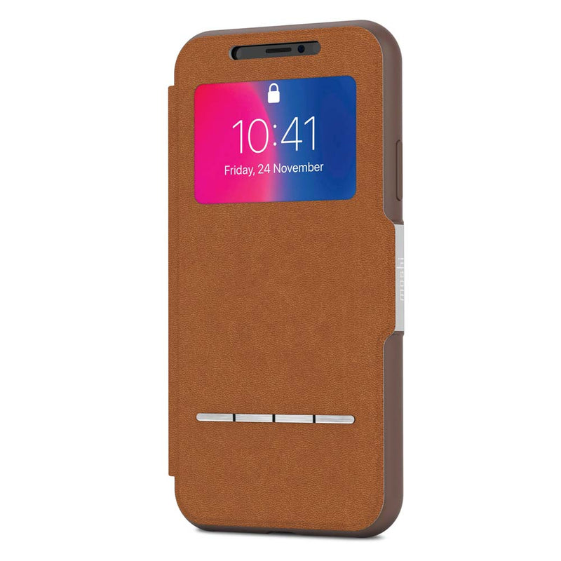 Moshi iPhone X SenseCover - Brown