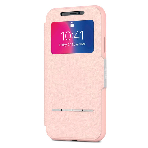 Moshi iPhone X SenseCover - Pink