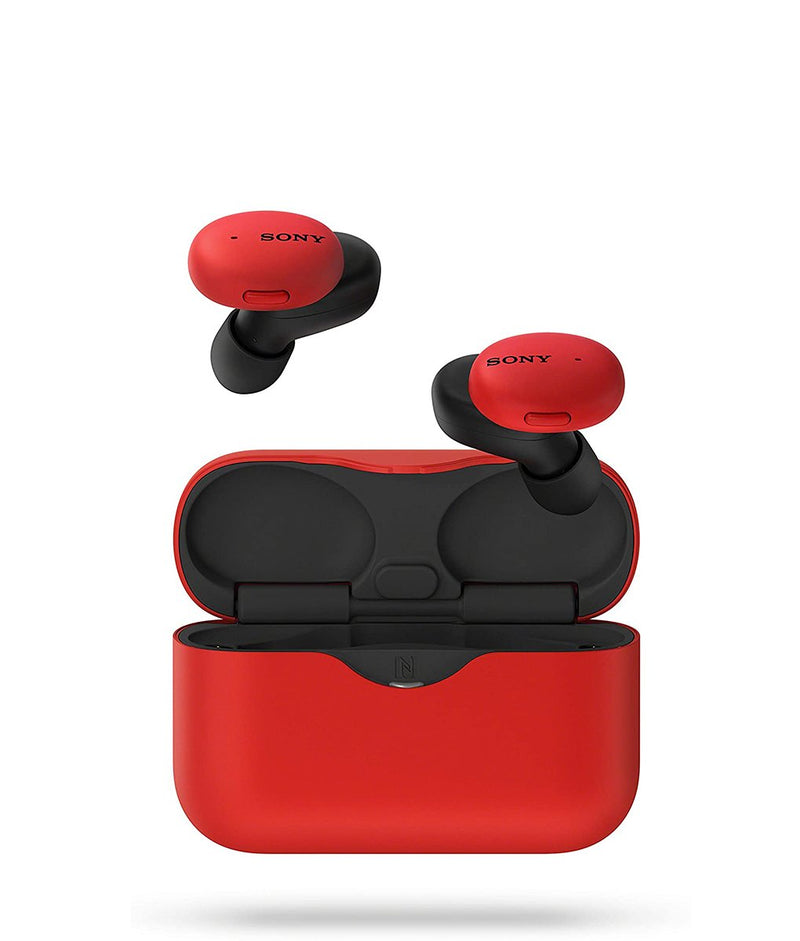 SONY WF-H800 Truly Wireless Headphones Red