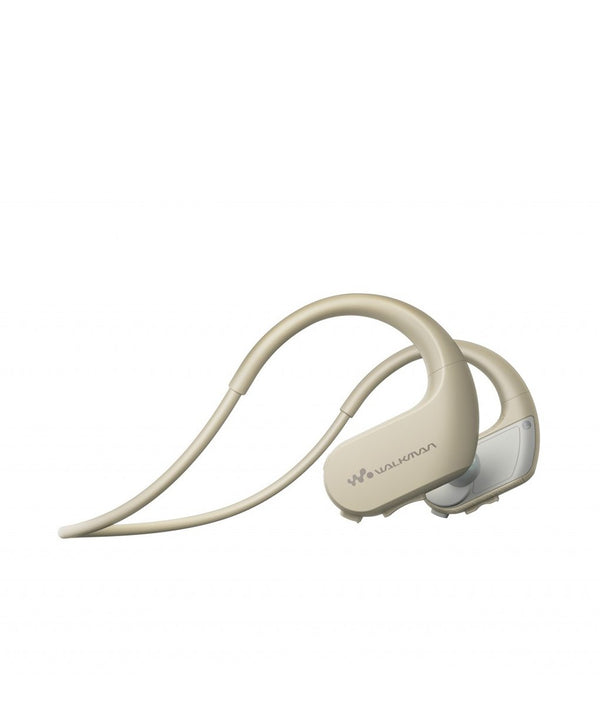 Sony NWZ-WS413 Waterproof Walkman Earphones - CREAM