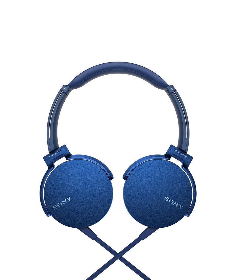 SONY MDR-XB550AP Extra Bass Headphone Blue