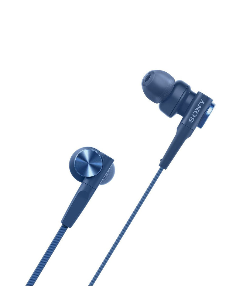 Sony MDR XB55AP Extra Bass In-ear Headphone Blue