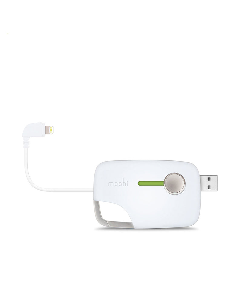 Moshi Xync with Lightning Connector - White