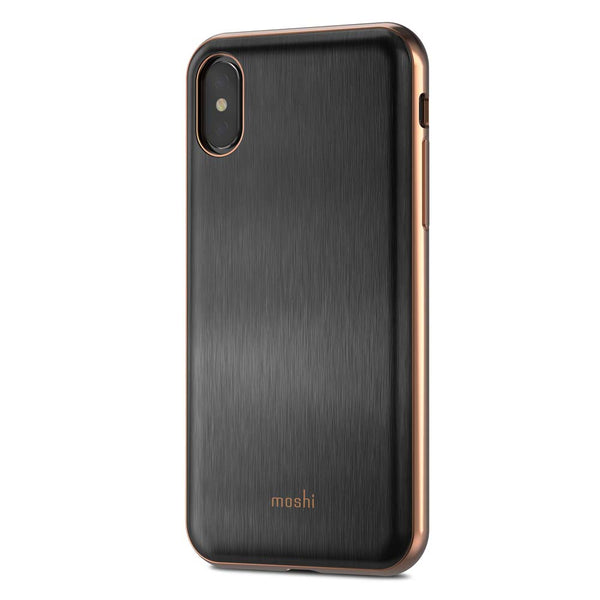 Moshi iPhone X iGlaze - Black