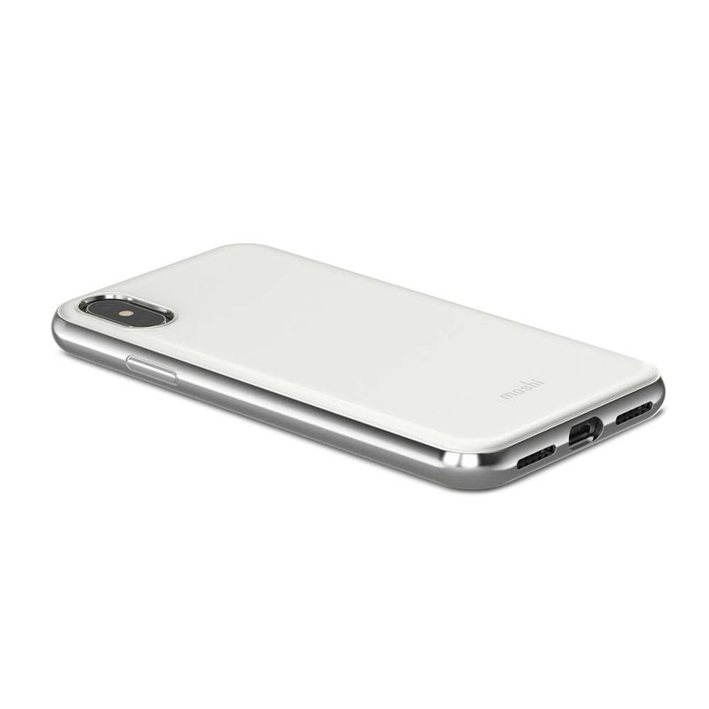 Moshi iPhone X iGlaze - White