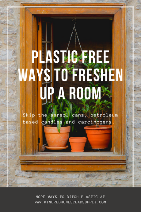 Low Waste Ways to Freshen a Room