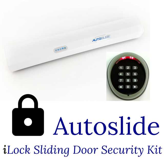 Autoslide iLock Sliding Door Security Kit