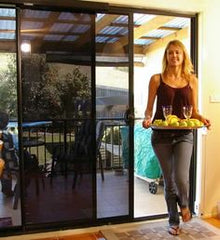 Automatic Sliding Patio Door