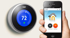 Smart Home Thermostat Controlled by Smartphone