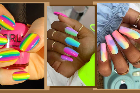 colorful nails Addory