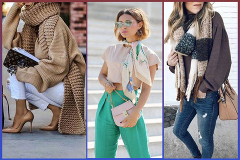 Top Fashion Tips To Look Stunning Instantly - Scarves