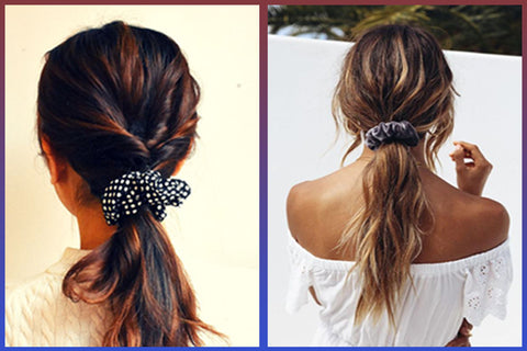 Top Fashion Tips To Look Stunning Instantly - Scrunchies