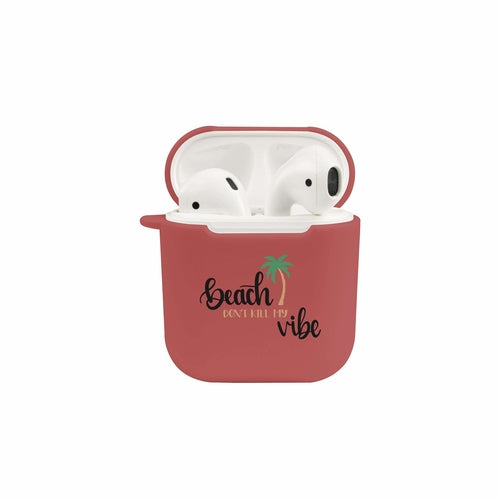 Soft Airpod Protective Case - BEACH VIBE