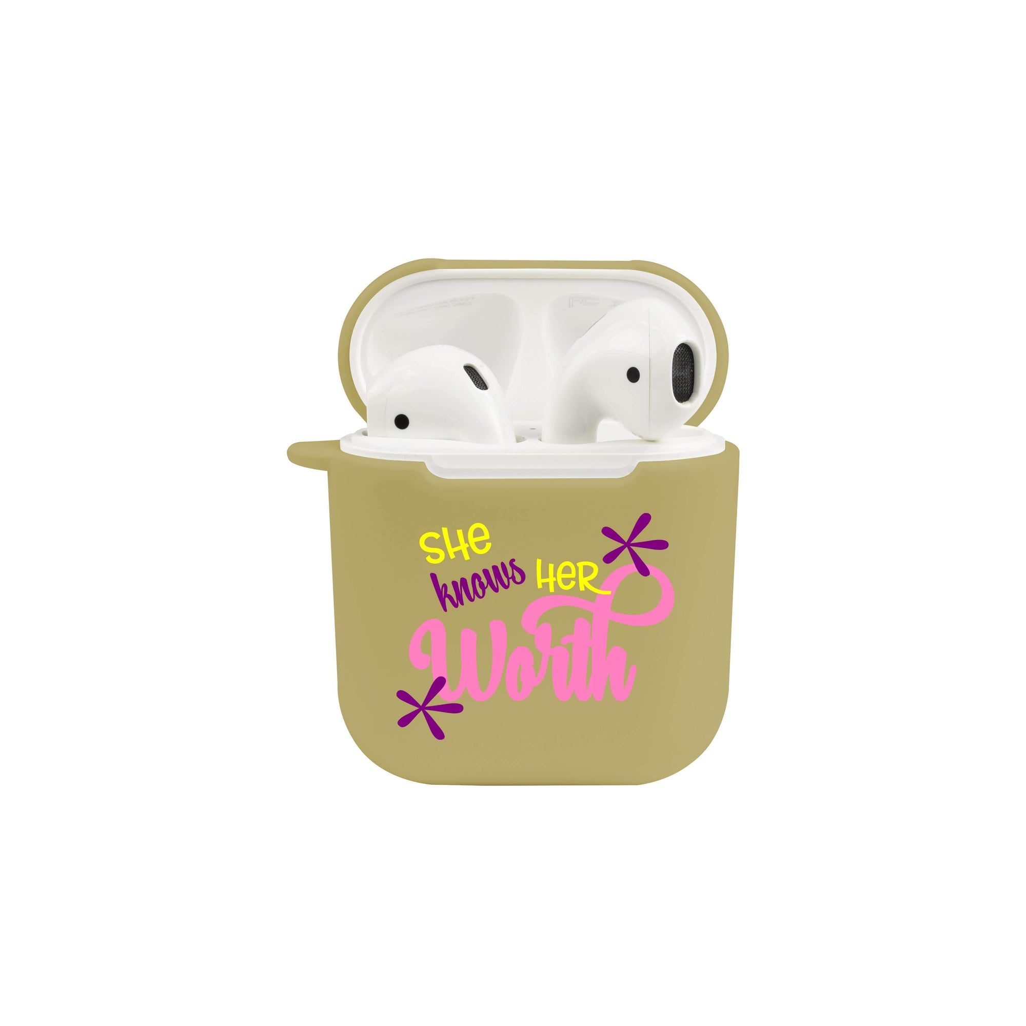 Soft Airpod Protective Case - HER WORTH