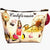 Fashion Cosmetic Bag California Chic for Women | HKD Boutique