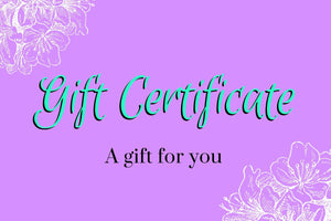 TSH Gift Certificate - choose denomination