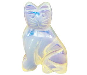 Opalite Cat Spirit Animal