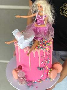 "6"" DRUNK BARBIE"