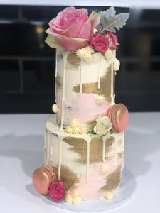 PINK HAPPINESS- 2 tier mini