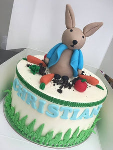 "PETER RABBIT 9""cake"
