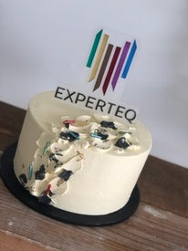 "CORPORATE CAKES -CUSTOMOMISED-9"" cake topper"