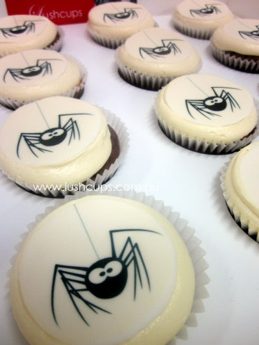 SPIDER IMAGE-12 cupcake