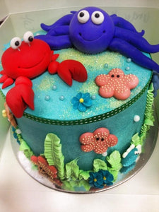 "UNDER THE SEA 6"" CAKE"