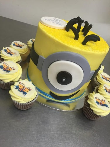 "6"" MINION ONE EYE TOWER PACKAGE"